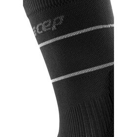 cep Reflective Mid Cut Socks Men, negro